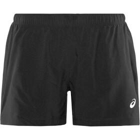 """asics Silver 4"""" Shorts Dames, zwart"""